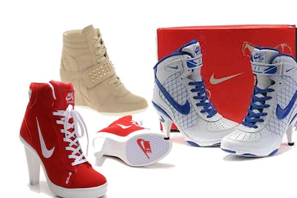 Spor Ayakkabılar Topuklu