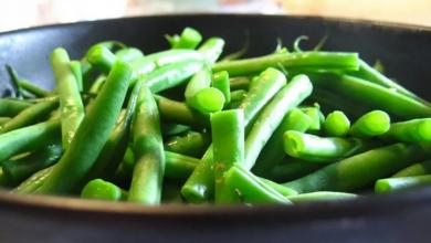 Yeşil Fasulye Salatası Diyet Şekli